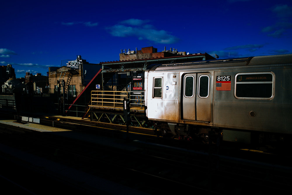 Marcy Ave Station, Williamsburg, Brooklyn