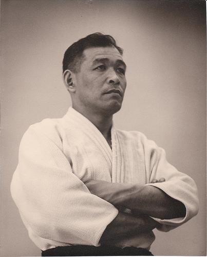 Inouye Sensei, Photo courtesy of Victoria Judo Club archives.