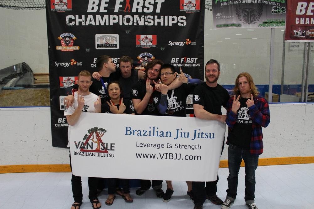 VIBJJ Team Podium.JPG