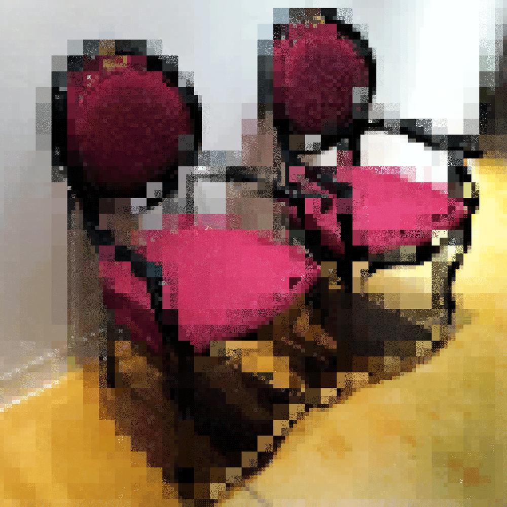 Chaises pourpres