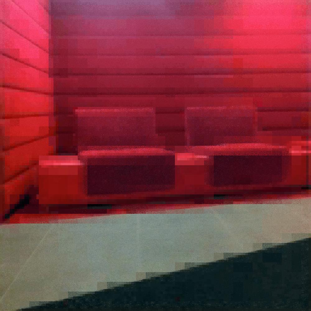 Banquettes rouges