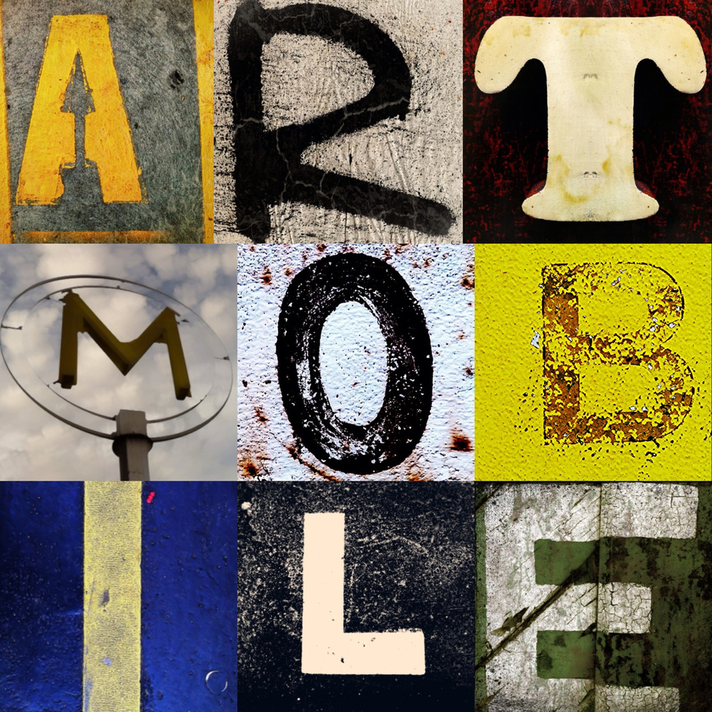 Erik Beck , Exercice typographique, 2012, montage photographique