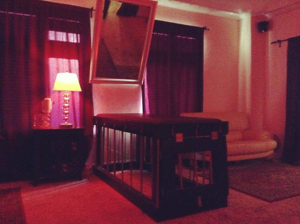 My private playspace, known as The Castle, is tastefully decorated, very clean, discreet and stocked with many toys and devices that would make even the most seasoned player squeel with delight.