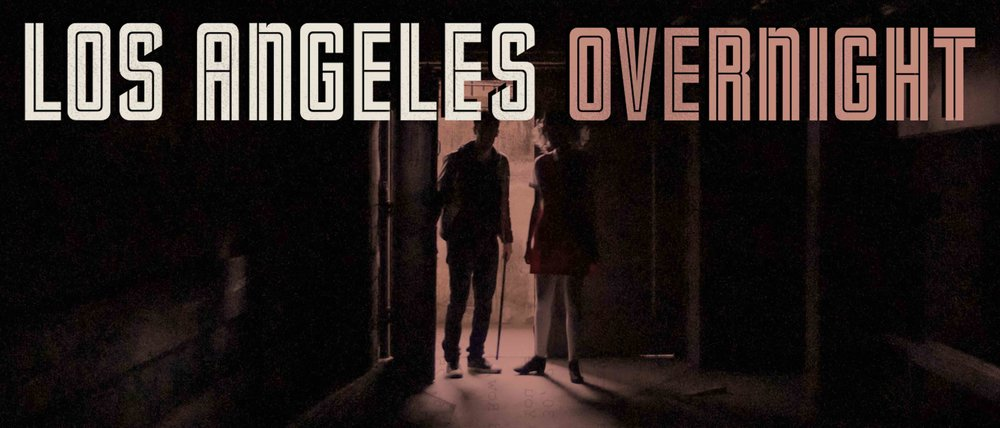 LOS ANGLES OVERNIGHT KEY ART