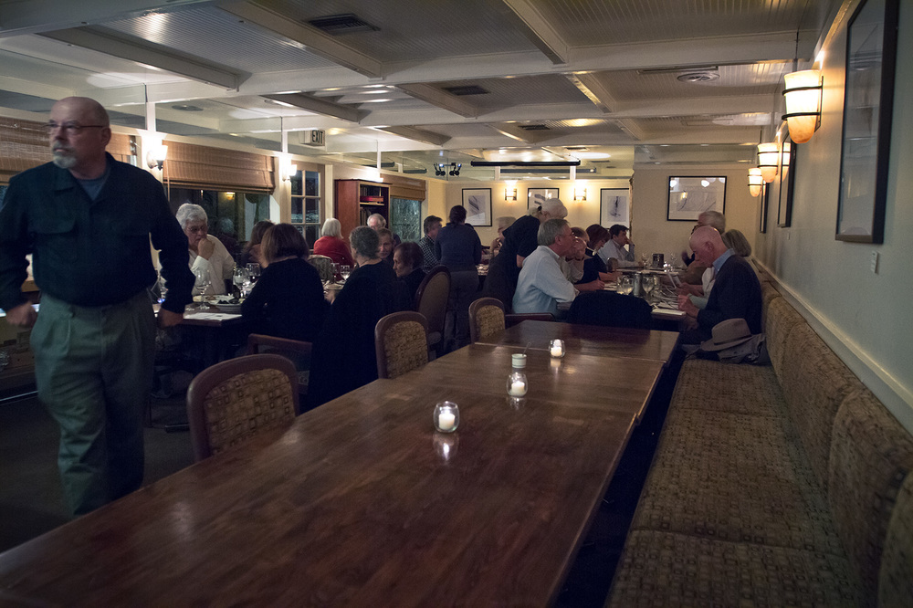 Our warm and cozy dining room in Sebastopol is truly a hidden gem.