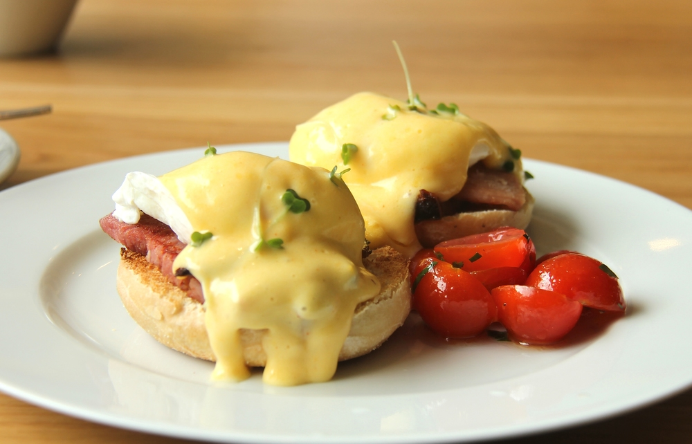 Eggs Benedict - this picture is outlawed in 3 countries