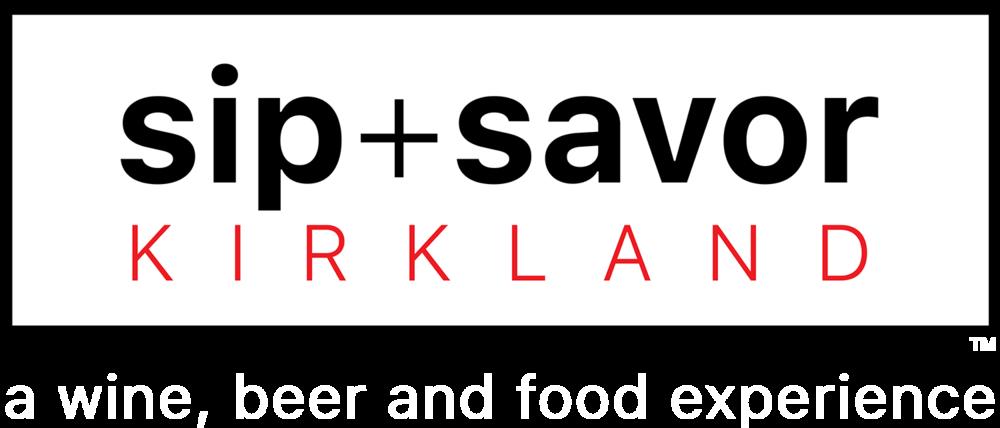Sip+SavorKirkland Logo NewB 1.27.2018 White Lower Text 5%22.png