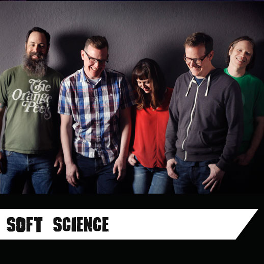 "Hailing from Northern California's Sacramento, Soft Science fuse melody, and texture inspired by 60s pop and 90s shoegaze to create their own sweet blend of modern pop music with a sonic edge. In 2011, Soft Science debuted with their first album 'High and Lows' , with Pop Matters noting the band's ""potential to become one of the great Left Coast power pop bands.""The dream-pop syndicate are currently playing live in support of their new album 'Maps' LP and will be performing at the Paris Popfest this September.  Like  them here  or listen to  them here    ""One of the best songs of 2018"" – John Richards, KEXP"