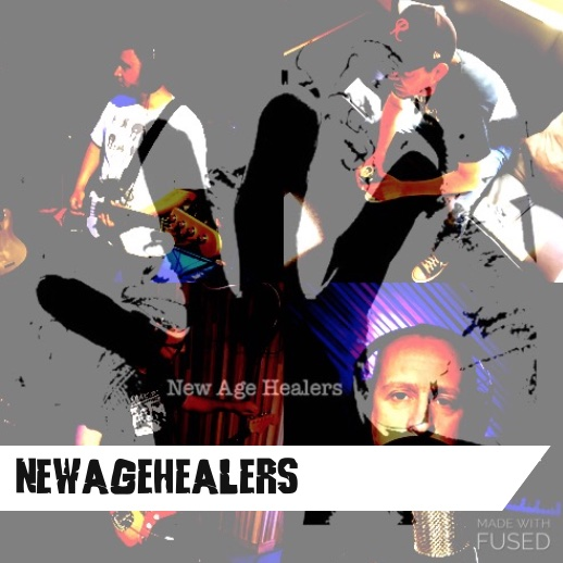 "New Age Healers is a shoegaze/psych-rock project conceived from the mind of Seattle based multi-instrumentalist Owen Murphy, featuring drummer Scott Matthews (The Piniellas), bass player Aaron Sankin (Dubious Ranger) and guitarist Adam Vernick (Lemuria / Devotion). NAH has two releases, 2016's  Ghosts  which NPR's Jim DeRogatis called ""wonderfully dark, hypnotic shoegaze,"" and 2017's  Where The Tragic Happens  which The Strangers' Dave Segal described as having ""slyly catchy melodies and occasional anthemic flourishes.""    Listen up here  or like them on  Facebook here"