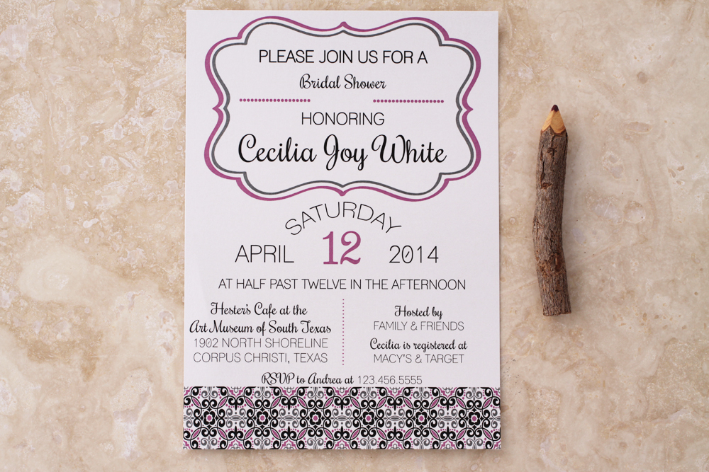 #showerinvitation #bluealoedesigns |  www.etsy.com/shop/bluealoedesigns