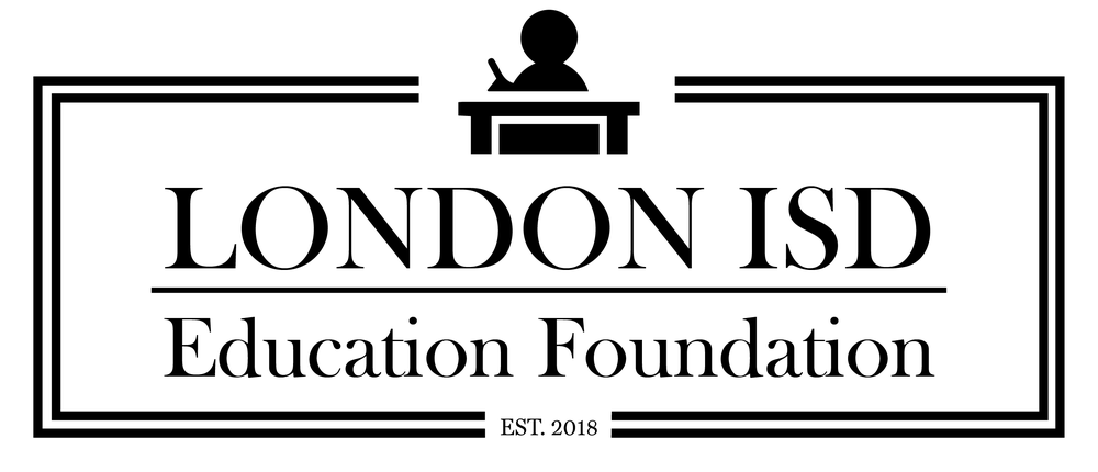 Logo and web design (in progress) for the London ISD Education Foundation in Corpus Christi, Texas -