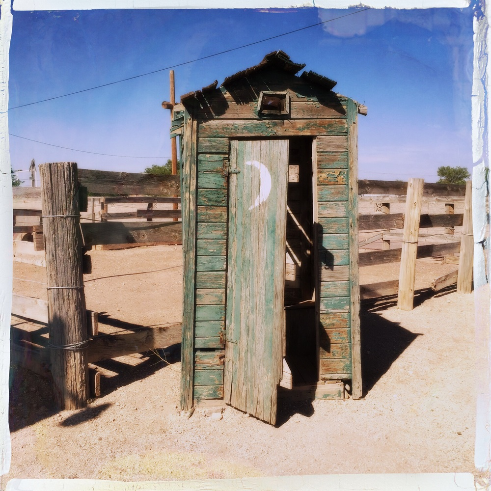 Old school Outhouse