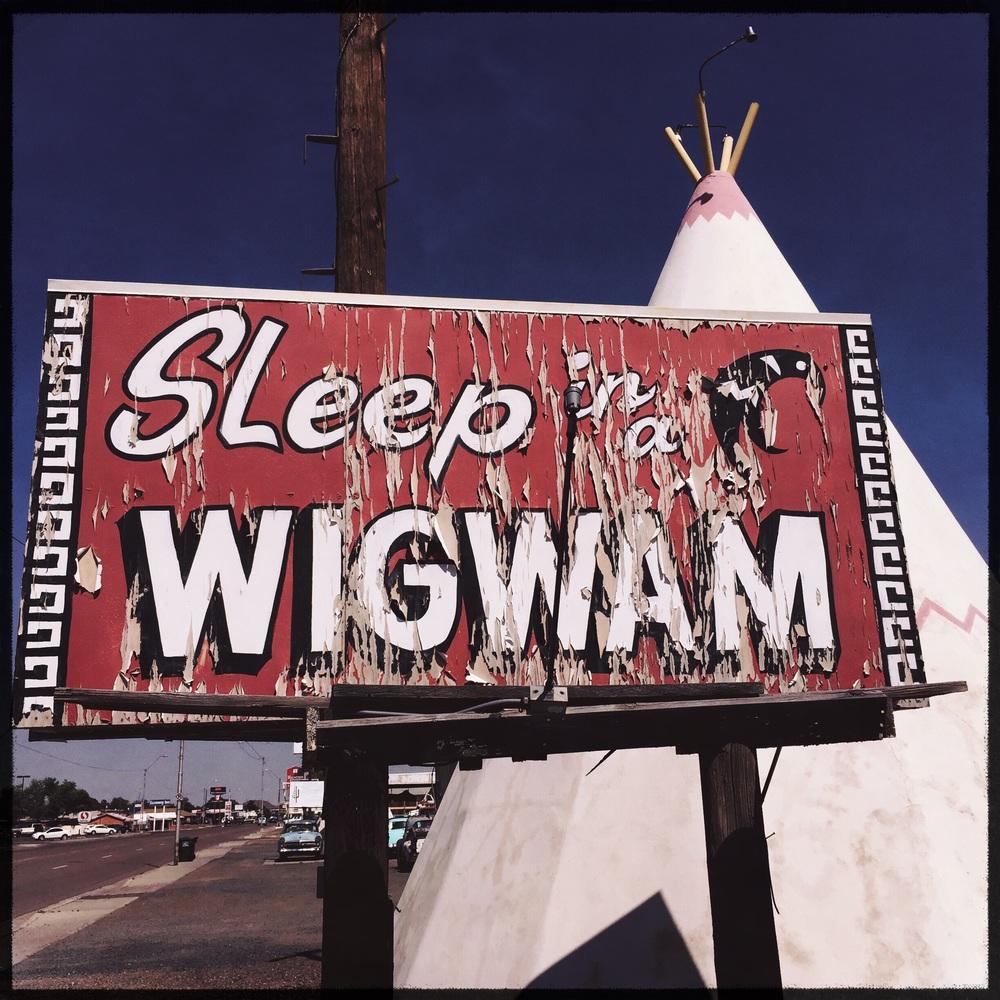 The Wigwam motel in Holbrook, AZ.
