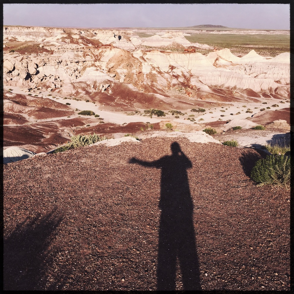 my version of a #selfie at the Blue Mesa