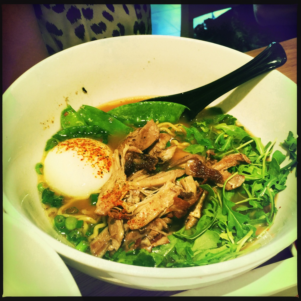 Had some amazing duck ramen at Uncle in the trendy neighborhood known as LO-HI short for the Lower Highlands.