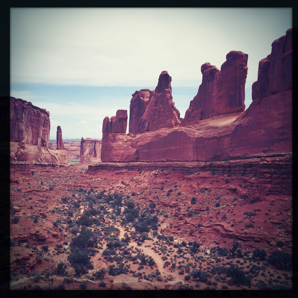 The Wall Street of Arches National Park