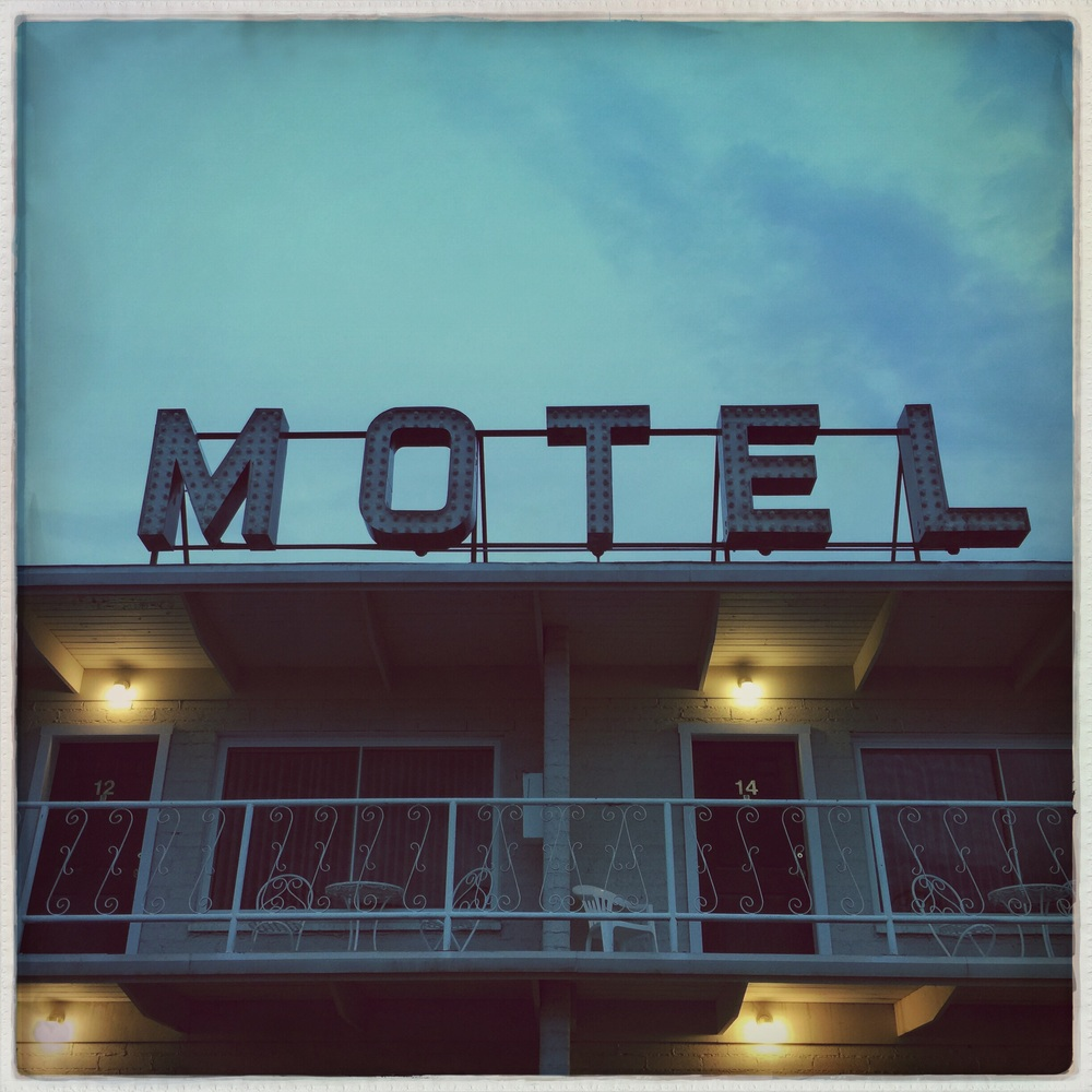 The Purple Sage Motel in Panguitch.