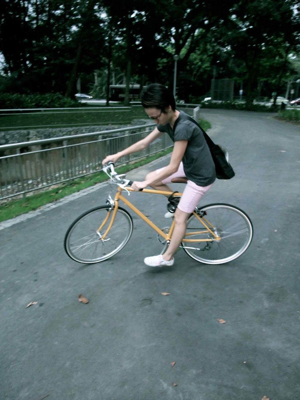 Of sk8tes, bikes & Bishan Park