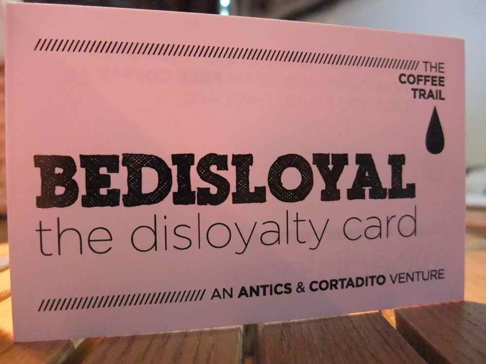 Coffee?? Bedisloyal.