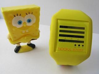 Spongebob Nooka + Kidrobot Nooka