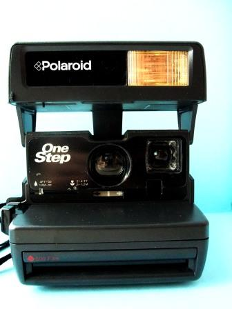 There's something inside Polaroid OneStep!
