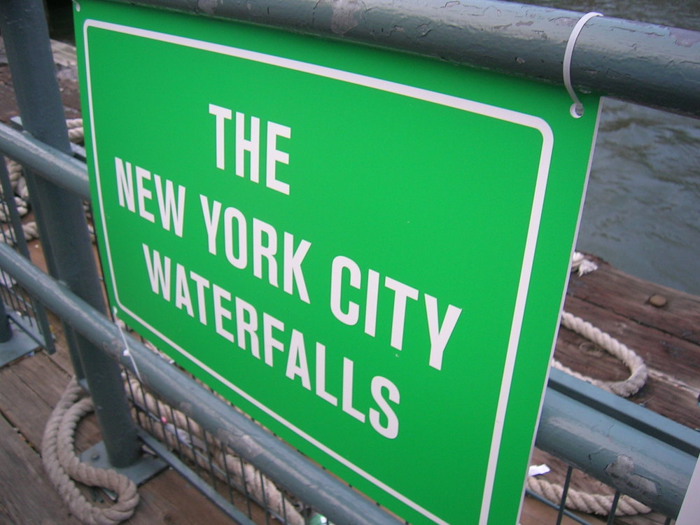 Waterfalls in NYC, no its not Niagara