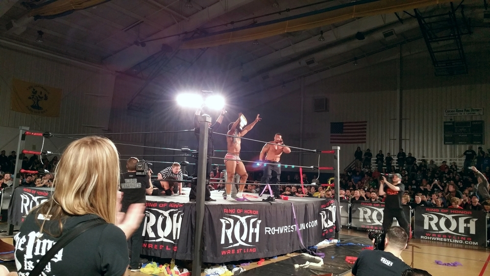 Jay Lethal victorious in his underwear