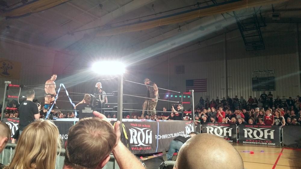 Jay Brisco vs Silas for the ROH Championship