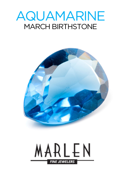 Aquamarine at Marlen Jewelers