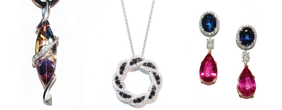 Vintage pieces at Marlen Jewelers