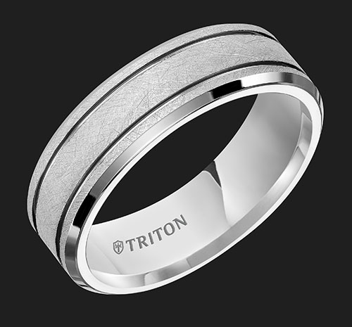 Triton Tungsten Ring