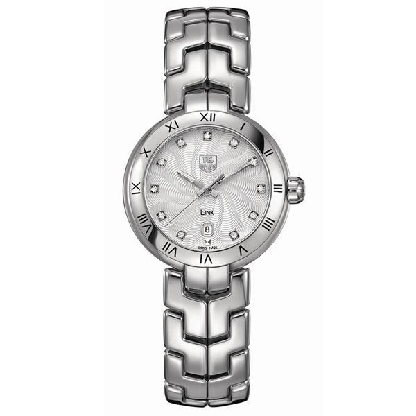 Tag Heuer Ladies Link diamond number markers