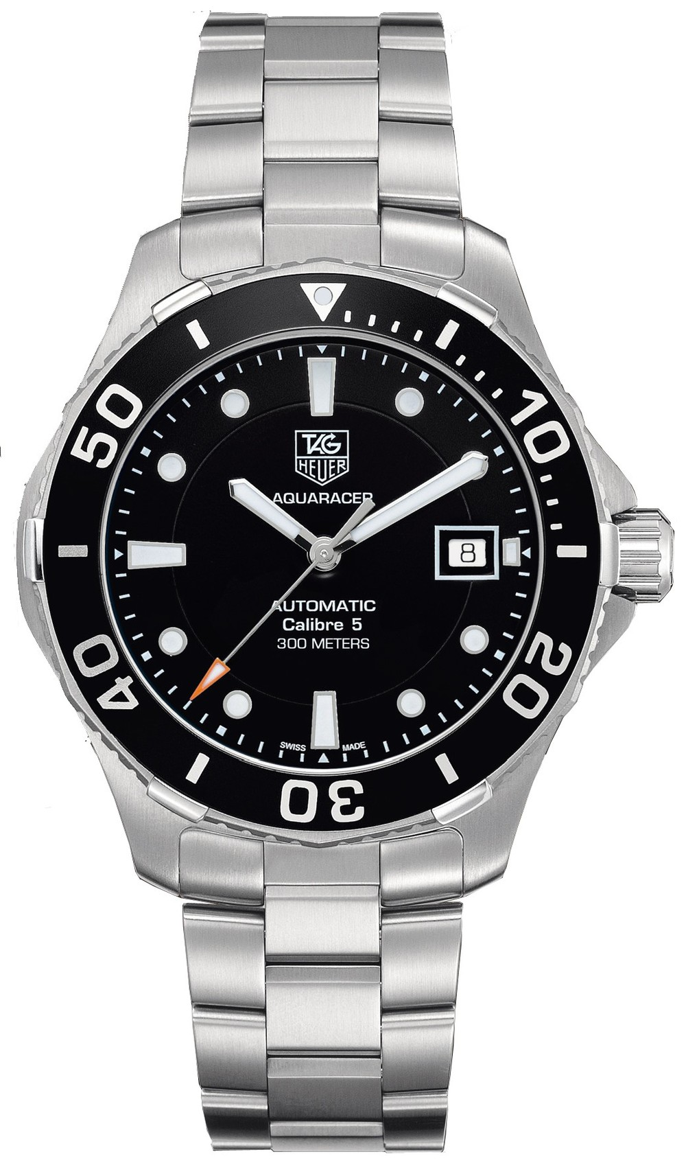 Tag Heuer cermaic dial and bezel aquaracer
