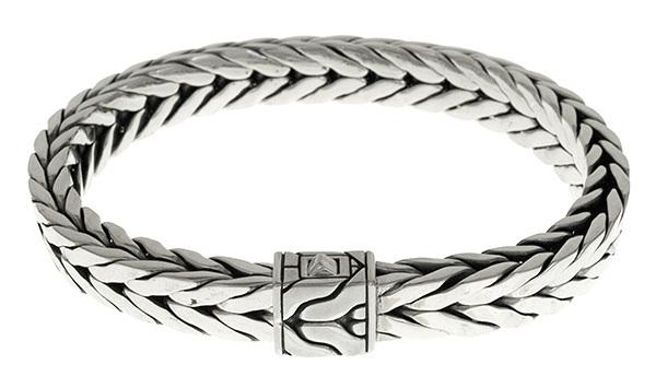 John Hardy mens bracelet. Woven sterling silver.  $1150