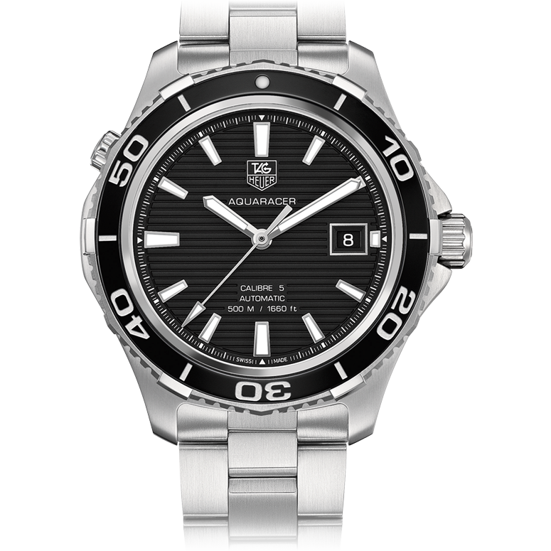 The TAG Aquaracer is a classy design suitable for active men who care for style.