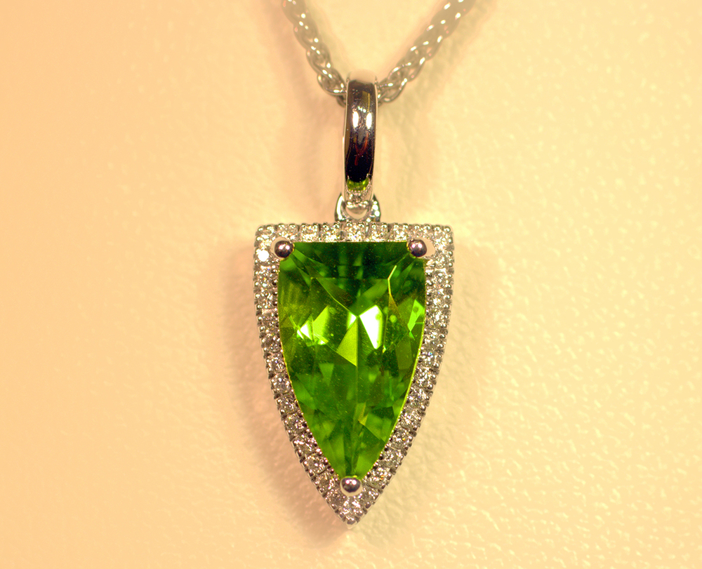 A Peridot pendant necklace would make a special August birthday gift!