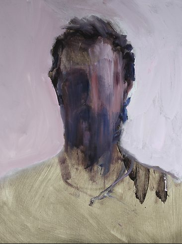 Faded Self Portrait, Guy Maestri, oil on linen, 2013