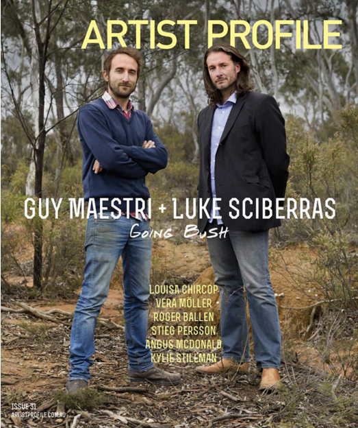 Artist Profile, Issue 31, 2015