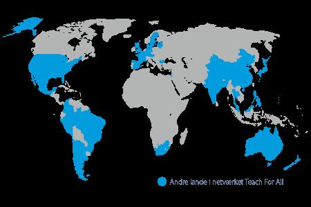Teach First Danmark er medlem af TeachFor All netværket