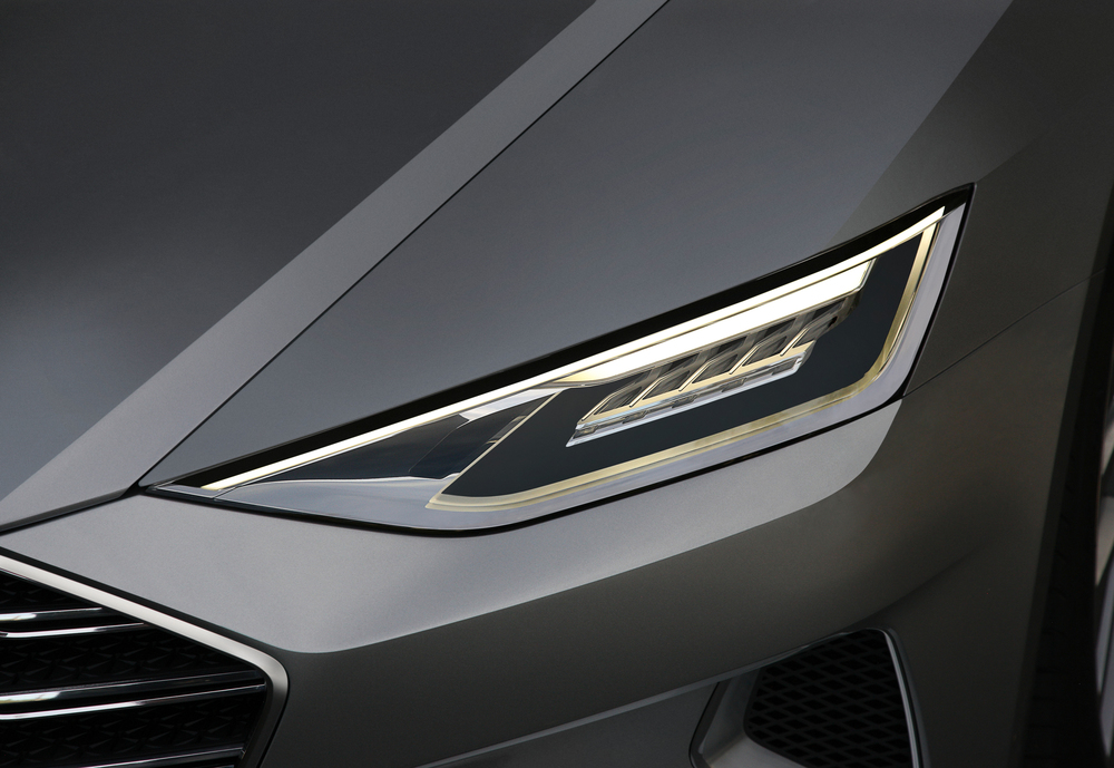Audi Prologue Matrix Laser Headlight (©Audi)