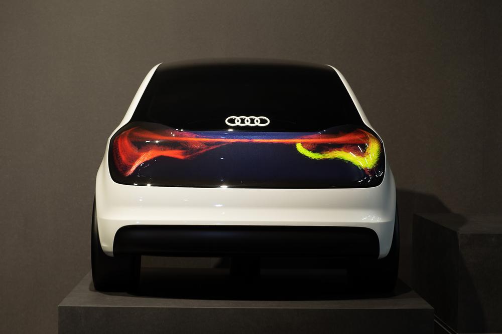 "Audi Designmodell ""The Swarm"" (©Audi)"