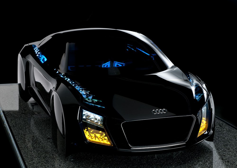 Designmodell OLED (©Audi)