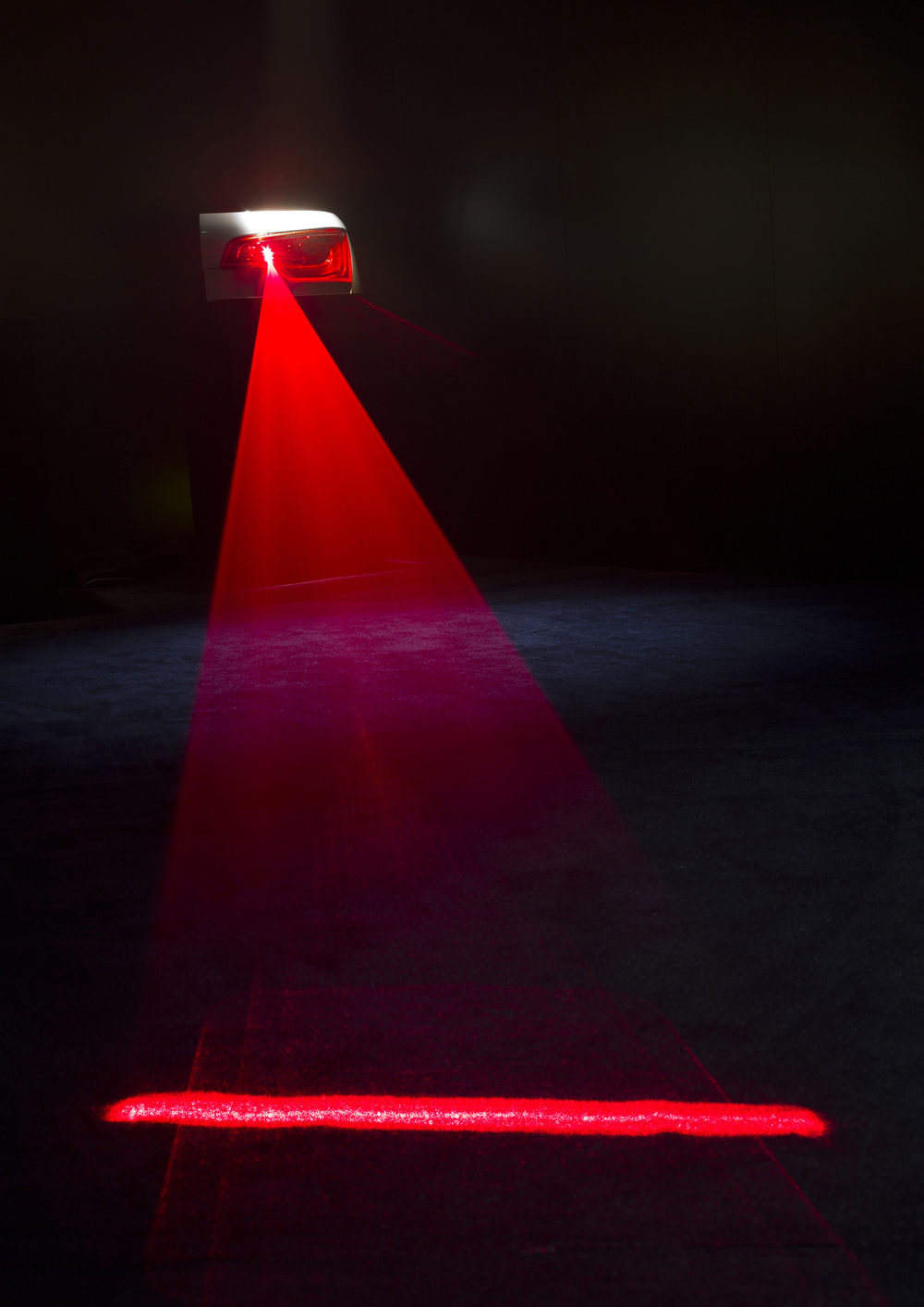 Lasernebelschlussleuchte (©Audi)