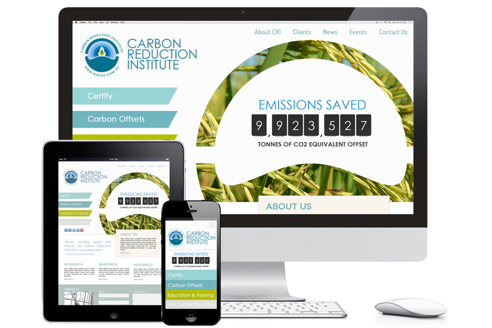Carbon Reduction Institute Website