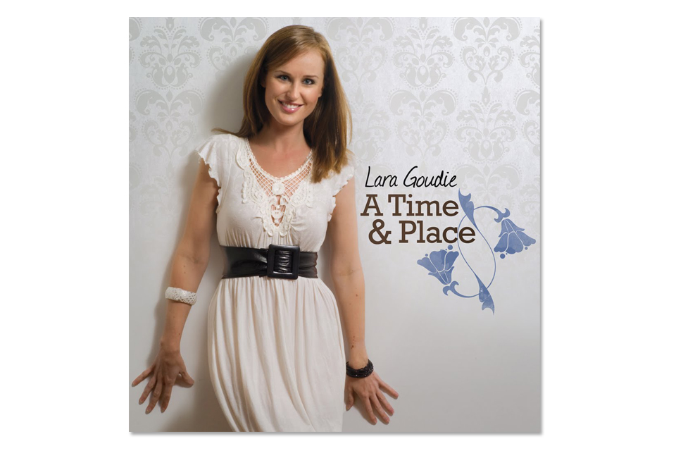 Lara Goudie Album Cover Design