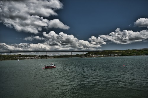 The Cleddau Estuary