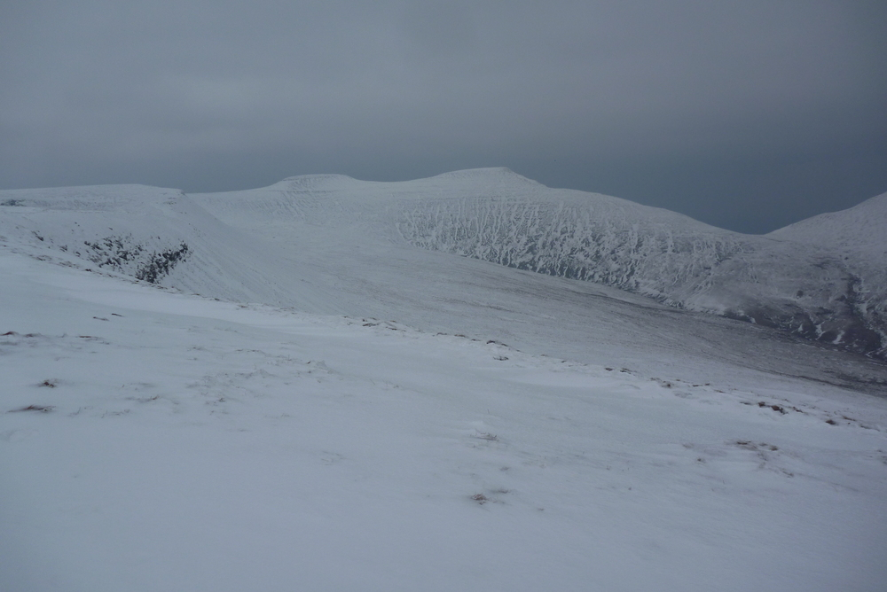 A very cold Brecon Beacons