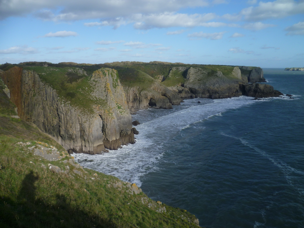 Lydstep Sea Cliffs