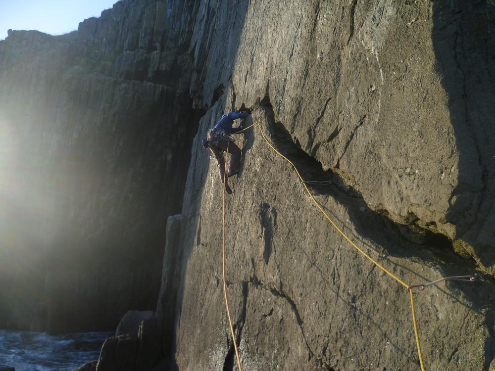 Sea Cliff Traverse Forbidden Head