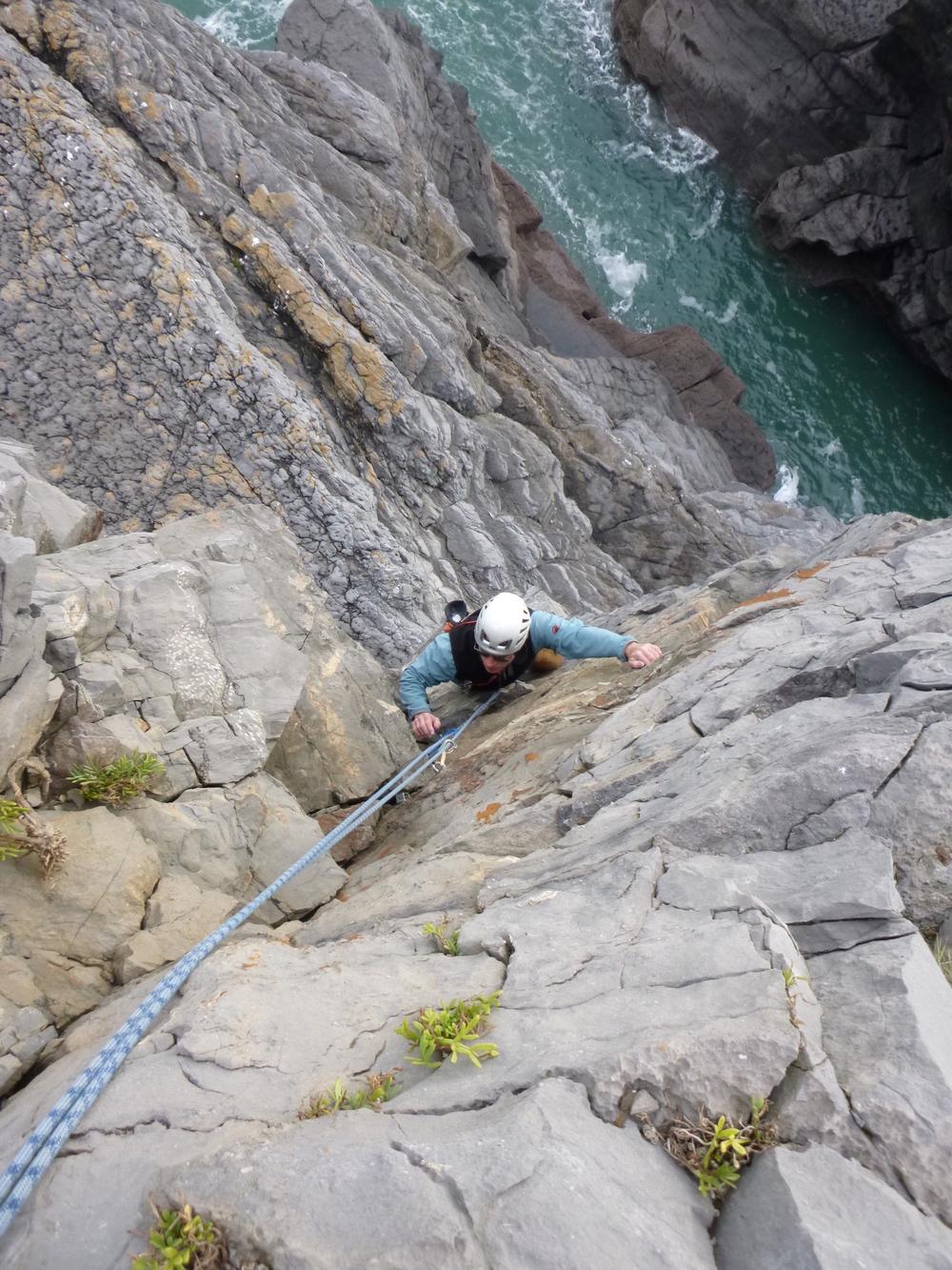 Rock Climbing Courses Pembroke
